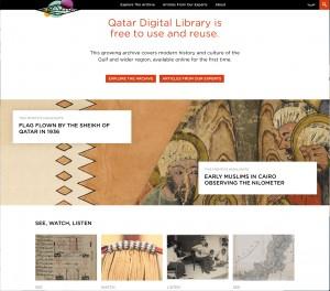 Qatar Digital Library http://www.qdl.qa/en